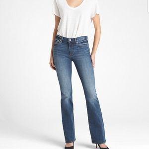 Gap 1969 perfect boot 29 short jeans